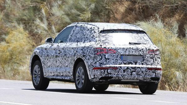 Audi Q5 2017 модельного года