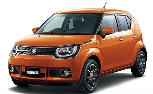 Suzuki представила кроссовер Ignis