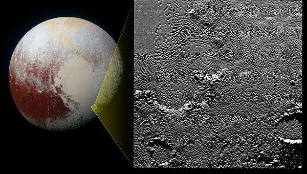 'ямы на Плутоне