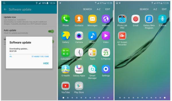Samsung Galaxy S5 случайно получил Android Marshmallow