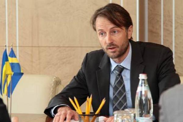 посол Швеции на Украине