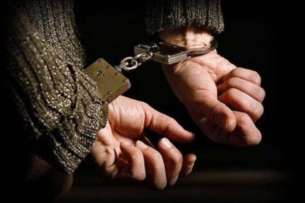 задержан наручники