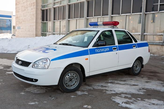 машины полиции фото россии