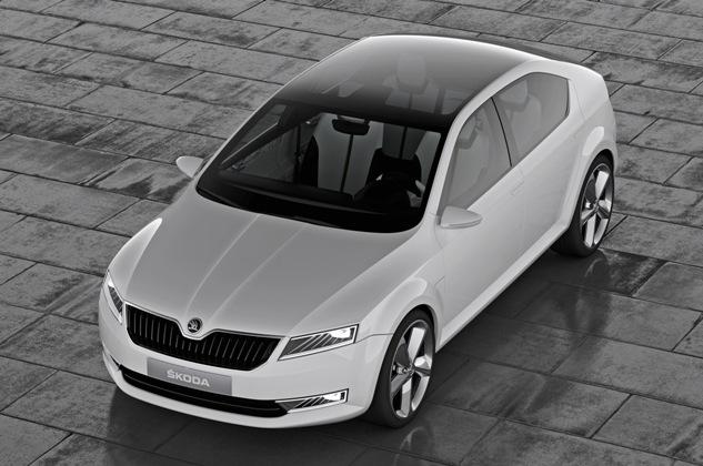 Компания Skoda представит на Женевском автосалоне концепт-кар VisionS