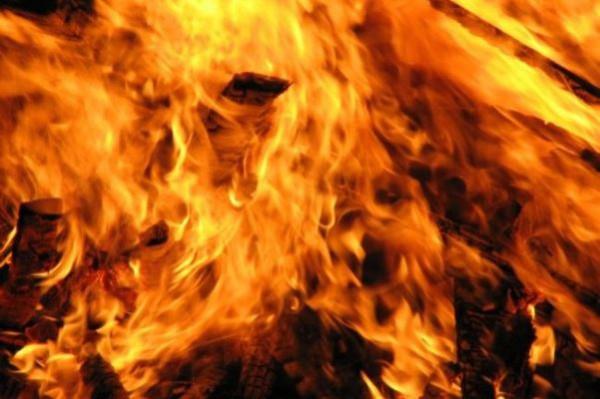 пожар огонь