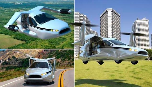 В 2018 году появится первый летающий автомобиль