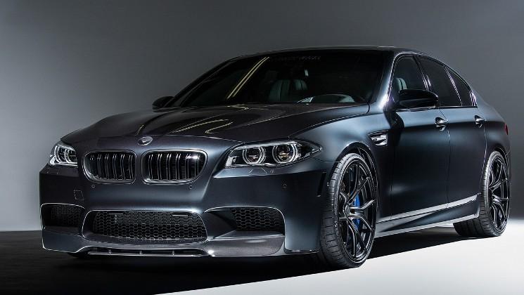 В Скандинавии замечен новый автомобиль BMW M5 на испытаниях