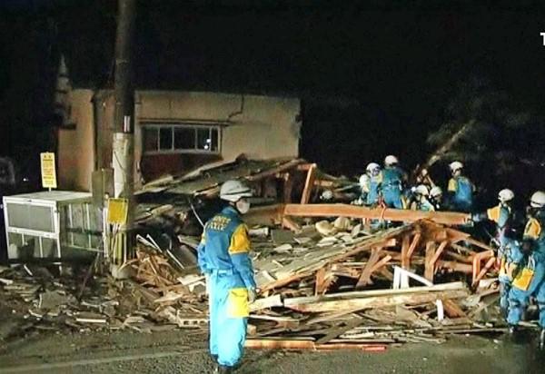 Сейсмологи: Затри дня вЯпонии зарегистрировано 388 землетрясений