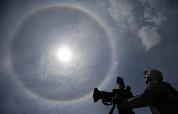 Внебе над Томском ученые зафиксировали новый неповторимый оптический эффект
