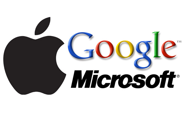 Google Microsoft Apple