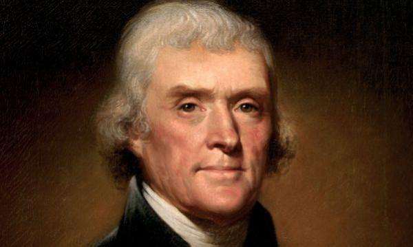 Волосы президента США Томаса Джефферсона ушли смолотка за6 875 долларов