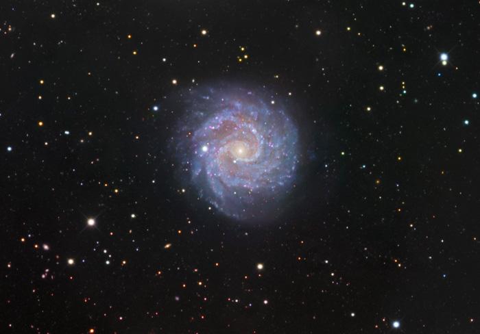 Ученым изНовосибирска удалось запечатлеть неповторимую галактику