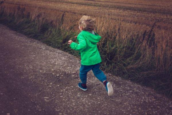 ребенок сбежал