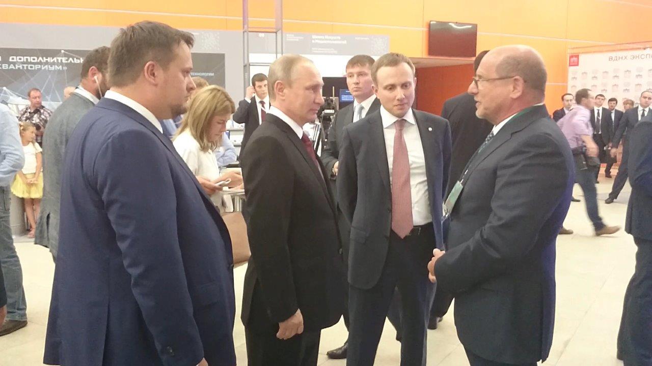 Компания «Интерскол» заинтересовала В. Путина