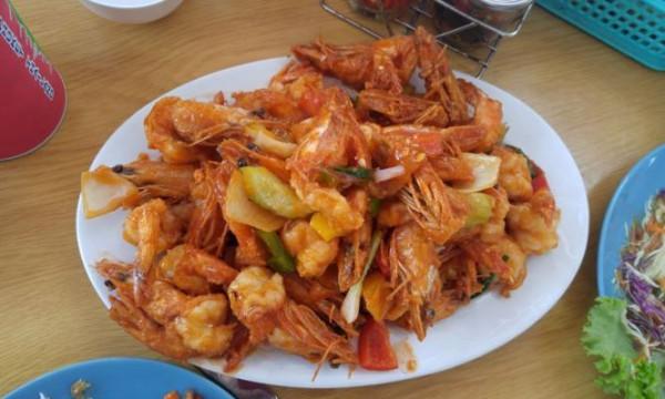 __креветки морепродукты