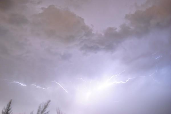 __гроза молнии шторм