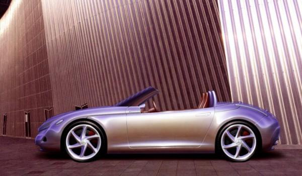 Mercedes родстер SLA