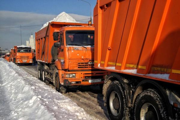 __дорога снег КамАЗ