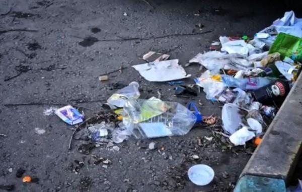 __мусор, улица