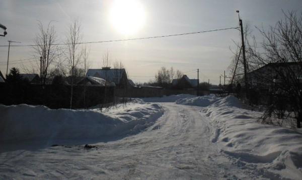 __снег, дорога