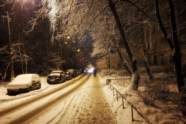 __ снег, мороз, холод