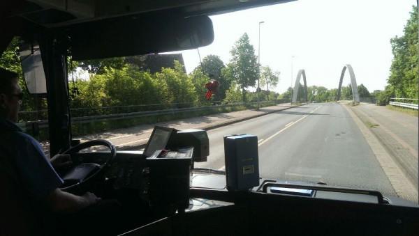 __ автобус, дорога
