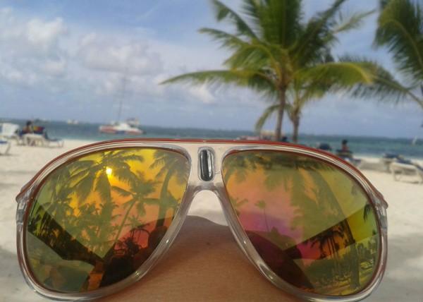 __ очки, пальма, отдых