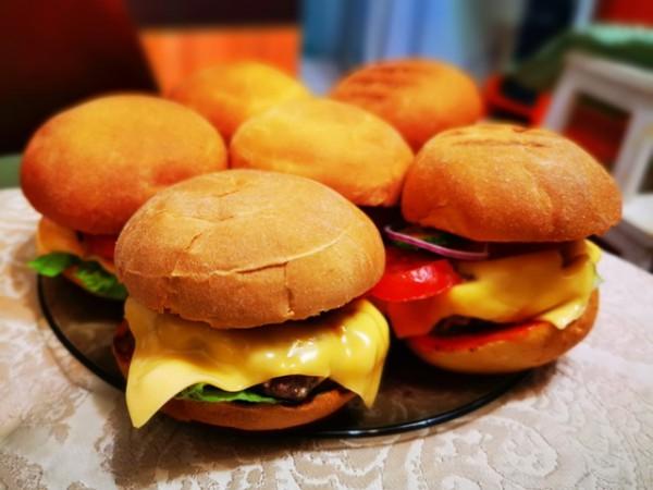 __еда, гамбургер
