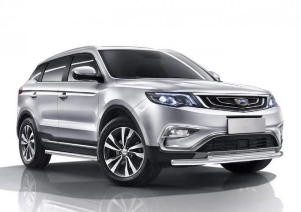 Geely Atlas китайское авто