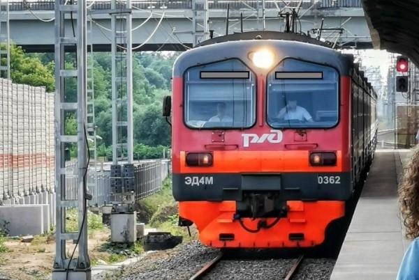 __поезд, электричка, РЖД