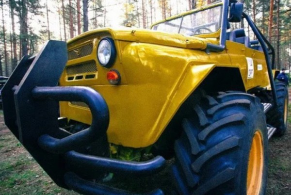 Житель россии построил набазе ГАЗ-66 вездеход «Малыш»