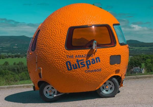 Mini, апельсин на колесах