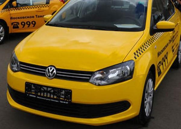 Volkswagen Polo такси