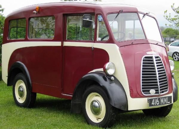 Morris, фургон