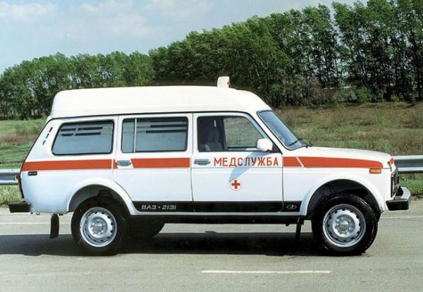 Lada 4x4 для медицинской службы
