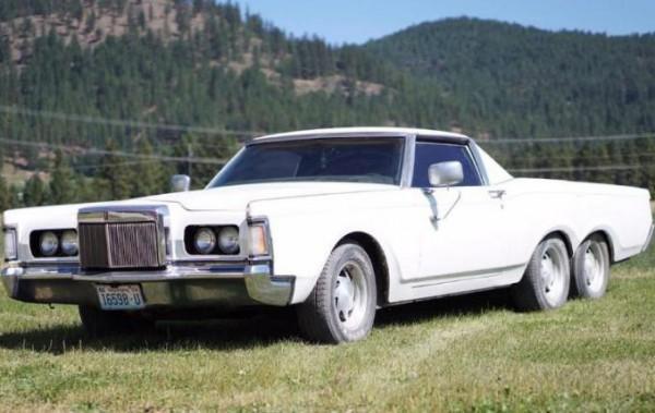 Lincoln Continental Mark III 1971 года выпуска