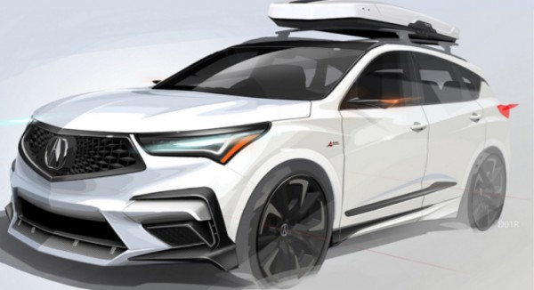 Acurа Sporty RDX A-Spec 2020