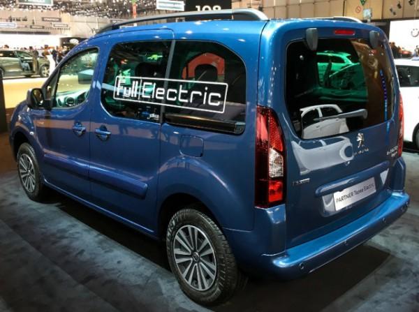 Peugeot электрофургон