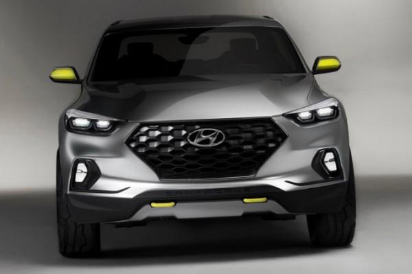 Hyundai Santa Cruz, пикап