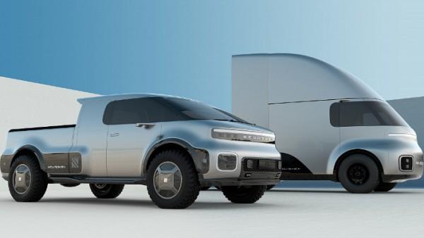 Neuron, электро, микроавтобус и грузовик