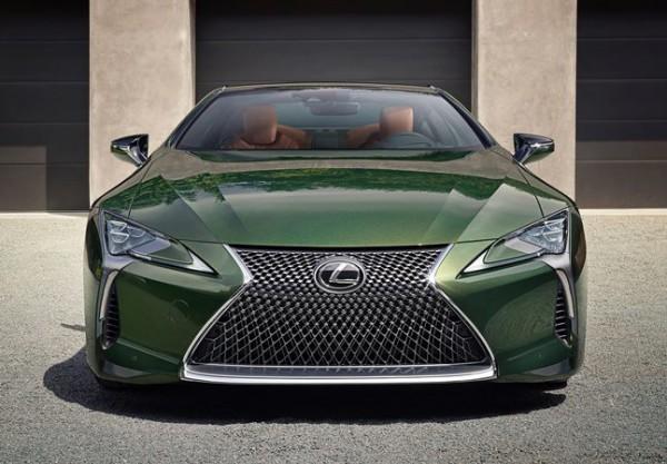 Lexus LC Inspiration, купе