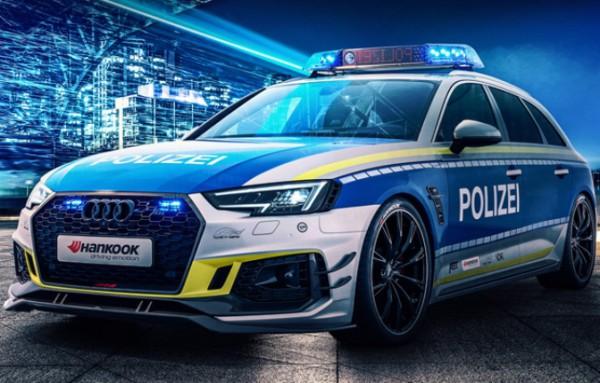 Audi RS4 Avant, патрульный автомобиль