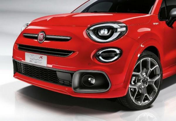 Fiat 500X Sport 2020 года