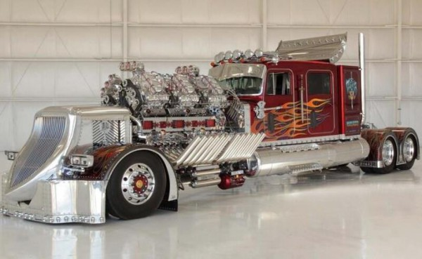 тягач THOR, 27,9-литровый двигатель