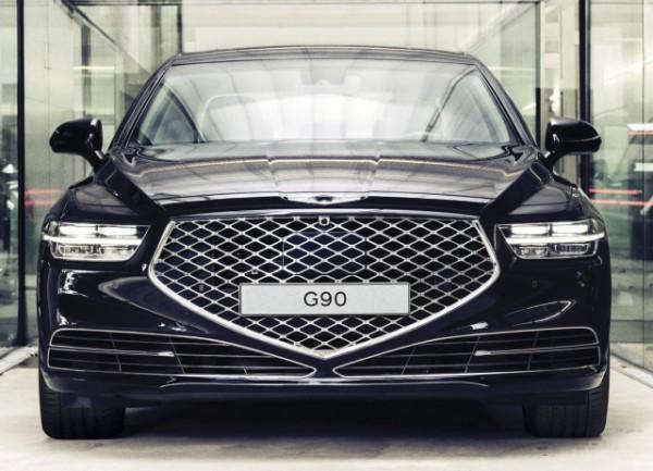 Genesis G90 обновленный