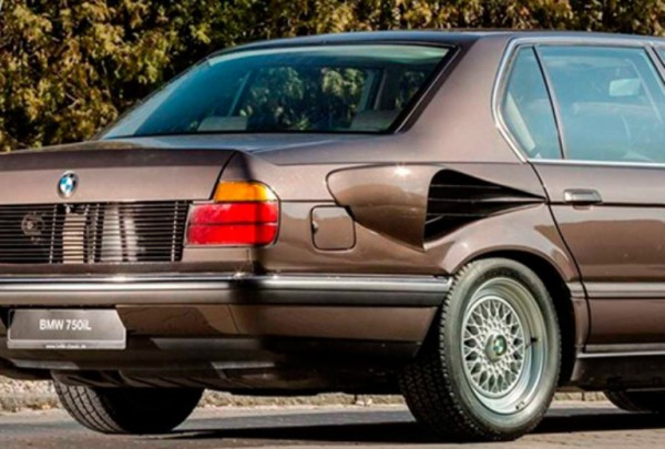 BMW 7-Series, золотая рыбка