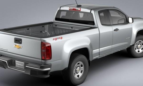 Chevrolet Colorado, пикап