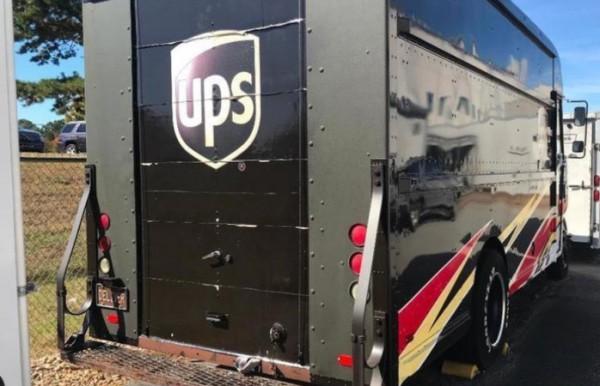 NASCAR UPS, гоночный фургон