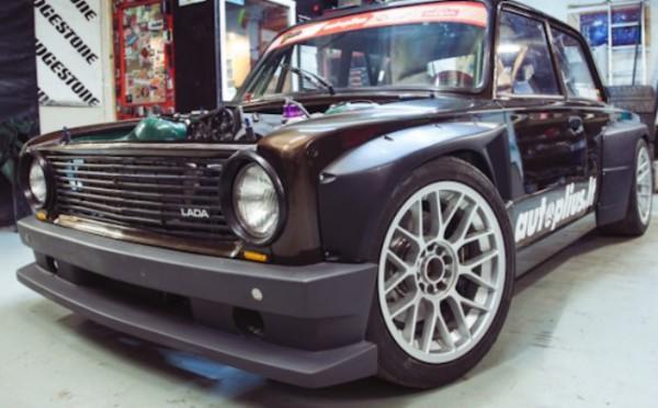 ВАЗ-2101 с двигателем от Lancia Delta Integrale