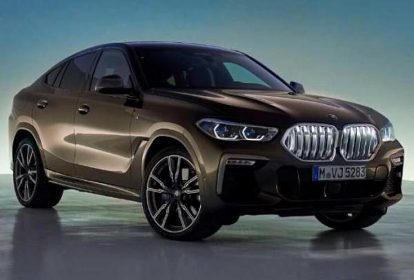 BMW X6, кроссовер, новый